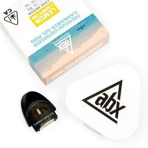 Abx live resin vape cartridge