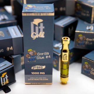 Litxtracts vape cartridge
