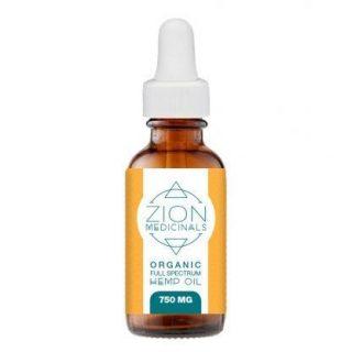 Zion Medicinals Full Spectrum Hemp Oil