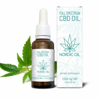 1500 MG Full-Spectrum CBD Oil