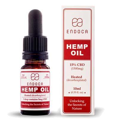 Buy CBD Oil Raw (Endoca) 15% ~10ml