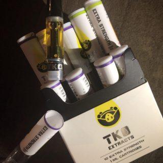 Tko extracts vape Cartridge UK