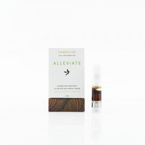 Cannalier Full Spectrum Alleviate Cartridge UK