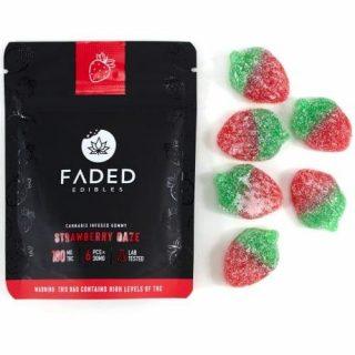 Buy Faded Edibles Vegan Strawberry Daze UK