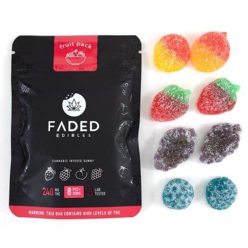 Buy Faded Edibles Fizzy Colas UK