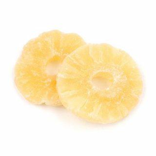 Kushbee edibles dried pineapple Fruit UK
