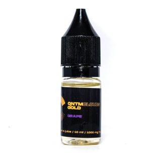 QNTM Clouds Gold THC Vape Liquid Grape UK